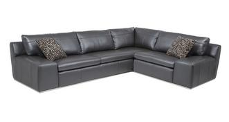 Palladium Option A Left Hand Facing 2 Seater Corner Sofa