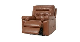 Paradise Leather and Leather Look Manual Recliner Chair