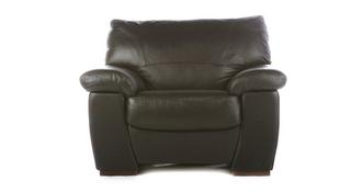 Pavilion Leather and Leather Look Armchair