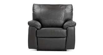 Pavilion Leather and Leather Look Manual Recliner Chair