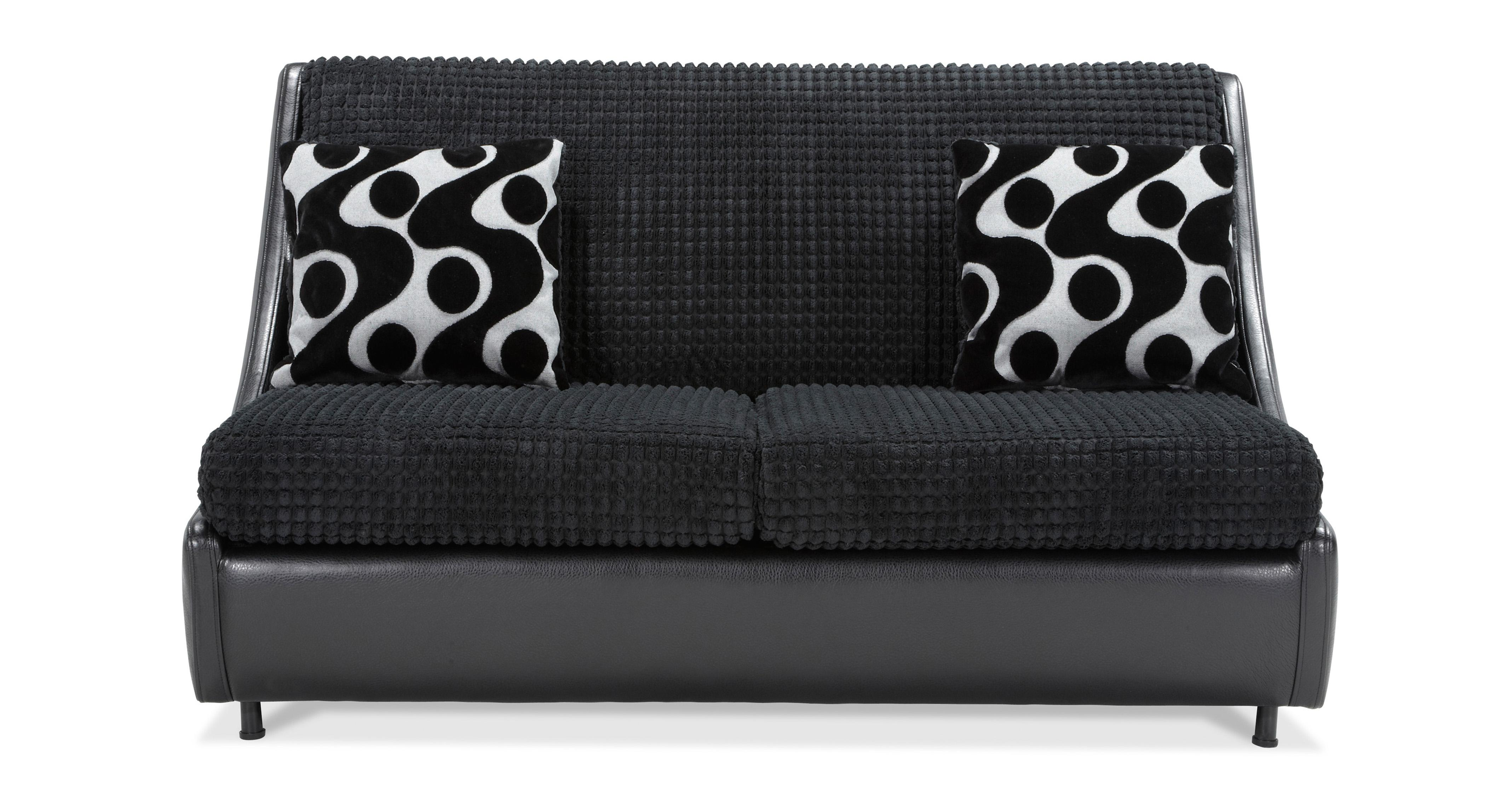 Pax 2 Seater Compact Formal Back Sofa Bed Dfs