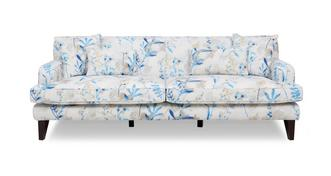 Penelope Floral 4 Seater Sofa