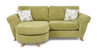 Pennie 3 Seater Formal Back Lounger Sofa