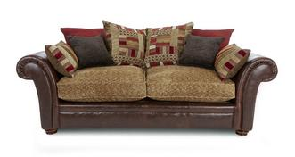 Perez 3 Seater Pillow Back Deluxe Sofa Bed