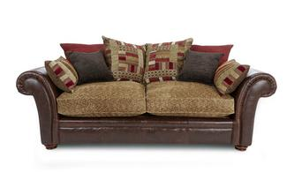 3 Seater Pillow Back Deluxe Sofa Bed Alaska Astrix