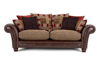 3 Seater Pillow Back Sofa Alaska Astrix