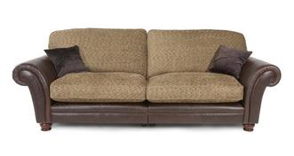 Perez 4 Seater Formal Back Sectional Sofa