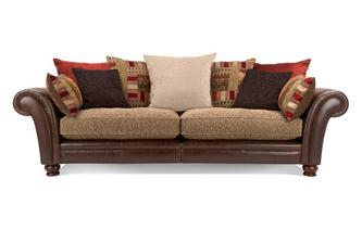 4 Seater Pillow Back Sectional Sofa Alaska Astrix