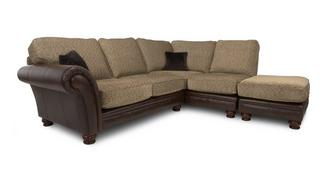 Perez Left Arm Facing 3 Piece Formal Back Corner Sofa