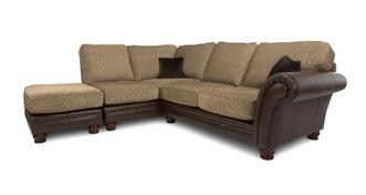 Perez Right Arm Facing 3 Piece Formal Back Corner Sofa