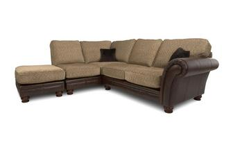 Right Arm Facing 3 Piece Formal Back Corner Sofa Alaska Astrix
