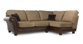 Perez Left Arm Facing 2 Piece Formal Back Corner Sofa