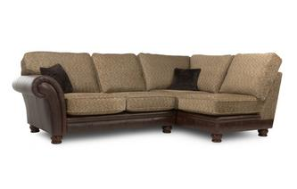 Left Arm Facing 2 Piece Formal Back Corner Sofa Alaska Astrix