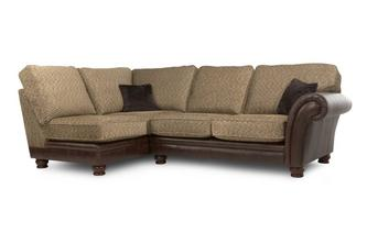Right Arm Facing 2 Piece Formal Back Corner Sofa Alaska Astrix