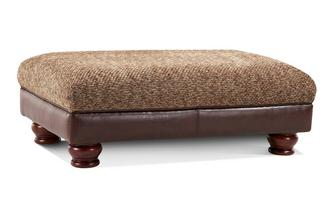 Rectangular Footstool Alaska Astrix