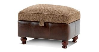 Perez Storage Footstool