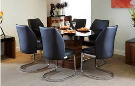 Phoenix Fixed Dining Table and 4 Chairs Phoenix