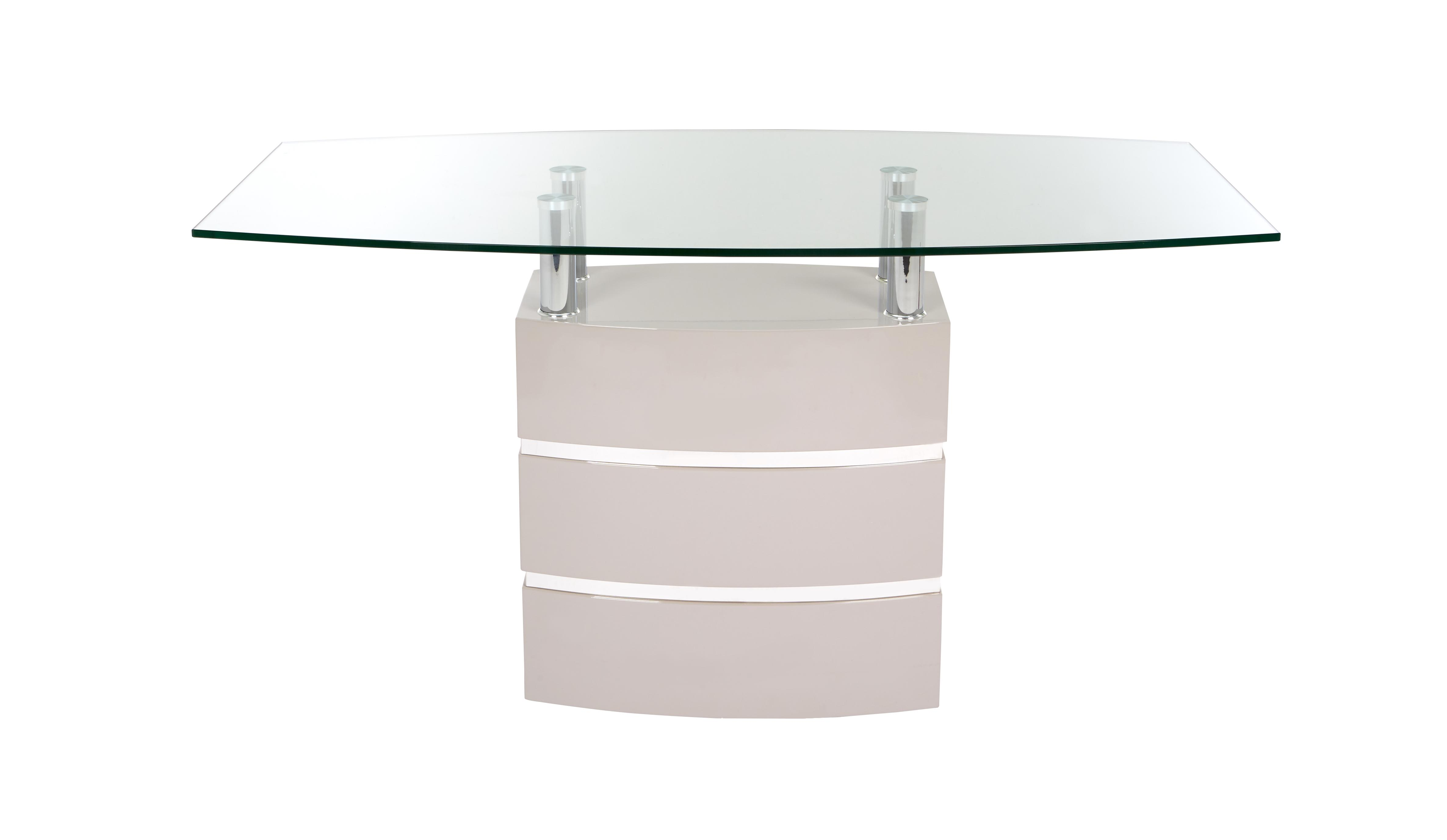 Piatto Fixed Top Dining Table DFS
