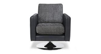 Pioneer Plain Small Swivel Chair