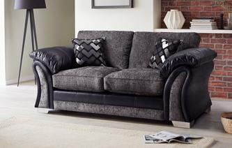 Pioneer Large 2 Seater Formal Back Deluxe Sofa Bed Pioneer