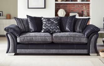 Pioneer 4 Seater Pillow Back Sofa Pioneer