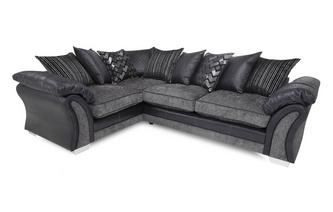 Right Hand Facing Pillow Back 3 Seater Corner Sofa Pioneer