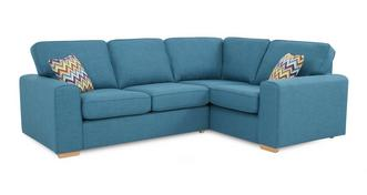 Pizzazz Left Hand Facing 2 Seater Corner Sofa Bed
