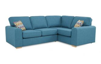 Left Hand Facing 2 Seater Corner Sofa Bed