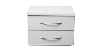 Plaza 2 Drawer Bedside Chest