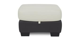 Polar Leather and Leather Look Storage Footstool