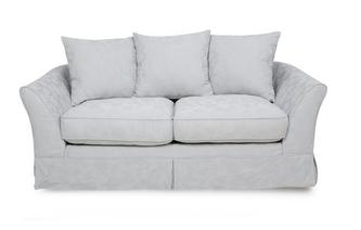 2 Seater Pillow Back Sofa Rosa