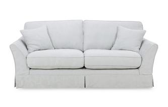 3 Seater Formal Back Deluxe Sofabed Rosa
