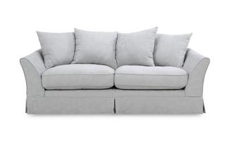 3 Seater Pillow Back Deluxe Sofabed Rosa