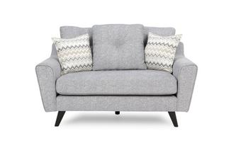 Small 2 Seater Pillow Back Sofa Presence Plain