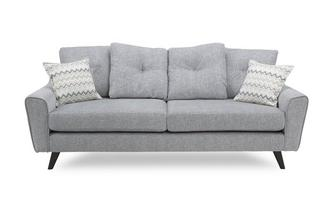 4 Seater Pillow Back Sofa Presence Plain