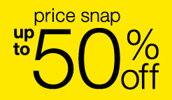 Price Snap! Up to 50% off