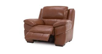 Punctual Leather and Leather Look Manual Recliner Chair