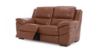 Punctual Leather and Leather Look 2 Seater Manual Recliner