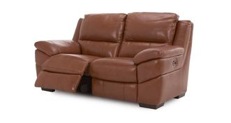 Punctual Leather and Leather Look 2 Seater Electric Recliner