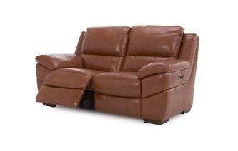 Leather and Leather Look 2 Seater Electric Recliner