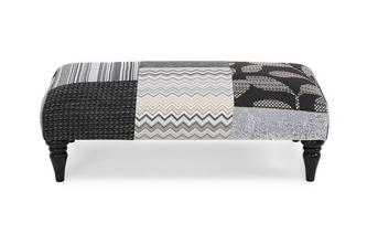 Patch Banquette Footstool Quant Patch
