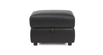 Quest Leather and Leather Look Storage Footstool