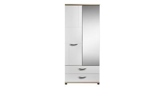 Quito 2 Door Mirror Robe with Drawers