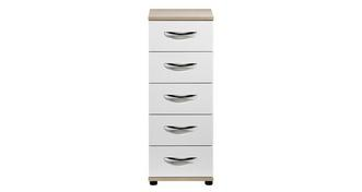 Quito 5 Drawer Narrow Chest