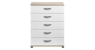 Quito 5 Drawer Wide Chest