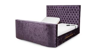 Radiant Super King Size (6 ft) Adjustable TV Bed & Mattress
