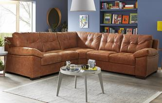 Rafael 3 Piece Corner Sofa Grand Outback