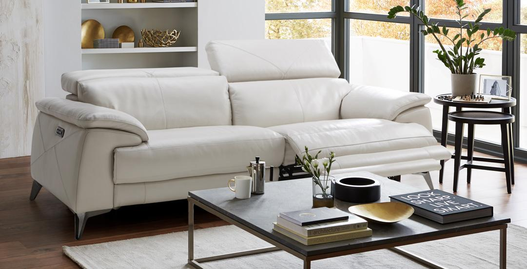 exclusive Iconica recliner sofas from DFS