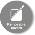 Removable Covers