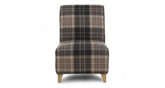 Reuben Check Accent Chair